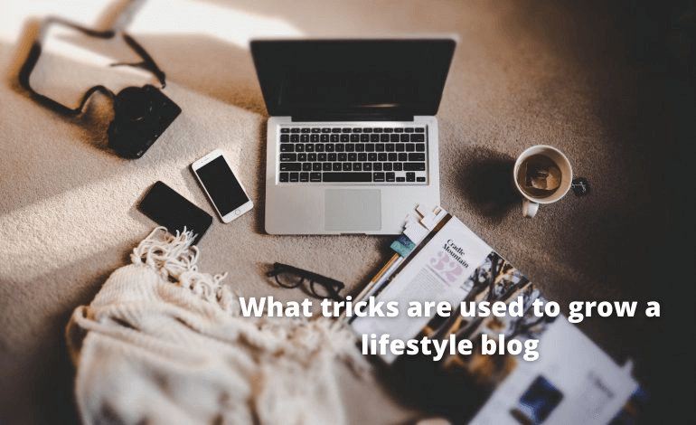 What tricks are used to grow a lifestyle blog
