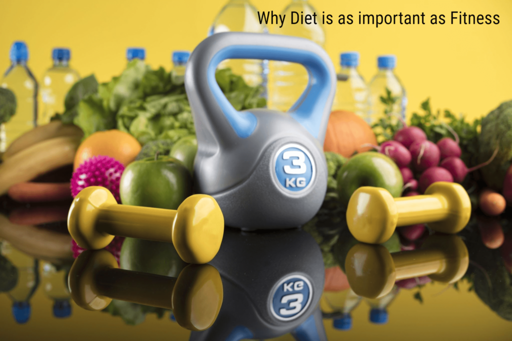 Why Diet is as important as Fitness