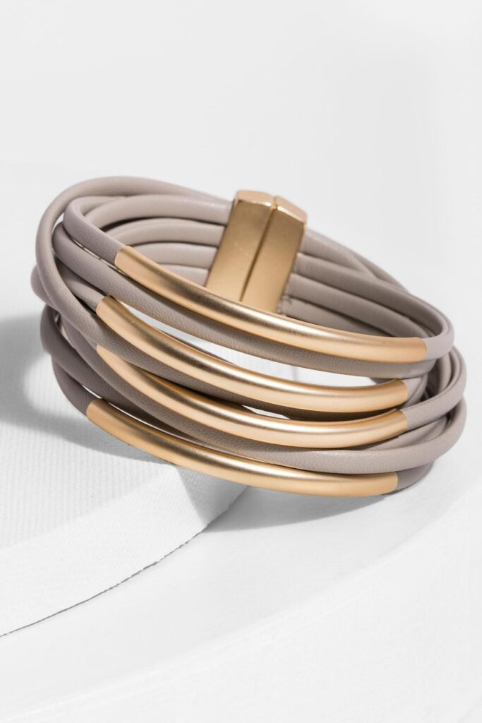 Is it accurate to say that you are searching for men's leather bracelets
