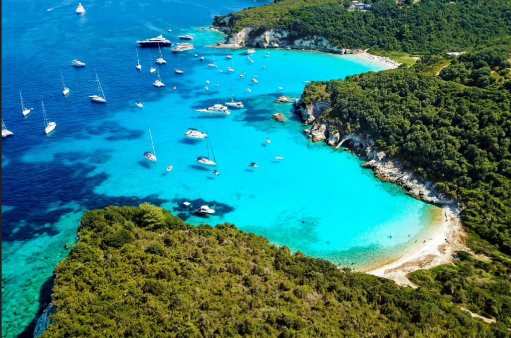 The best beaches on Paxos and Antipaxos